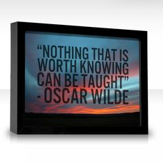 Would Oscar Wilde be a good person to write my report on who my hero is?