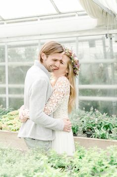 Greenhouse Wedding Inspiration | Candida & Max Jan | Wedding Photographer | Wedding | Inspiration | Vintage | Boho Style | Bride | Dress |