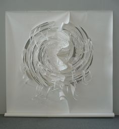 Charlotte McGowan - Griffin -WhiteIlinx - Paper Art - Art Unpacked - Forest of Possibility