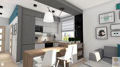 Kuchnia styl Skandynawski - zdjęcie od MN Pracownia Projektowa - Kuchnia - Styl Skandynawski - MN Pracownia Projektowa