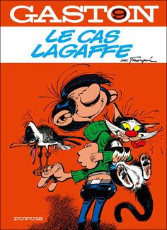 Gaston Lagaffe, son chat et la mouette rieuse