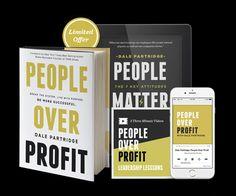 People over profit.