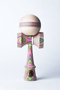 Sweets Kendamas Homegrown Mint Berry Crunch Spectra Stripe