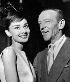 Fred Astaire and Audrey Hepburn / Funny Face Fred Astaire, Audrey Hepburn Funny Face, Audrey Hepburn Quotes, British Actresses, Actors & Actresses, Classic Hollywood, Old Hollywood, Hollywood Stars, Beauty