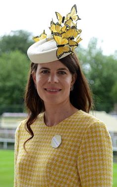 Lady Laura Cathcart, June 16, 2016 in Laura Cathcart Millinery | Royal Hats