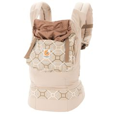 Ergobaby Organic Collection Baby Carrier - Lattice (BCO25220NL) | Ergobaby Will Also Need Infant Insert ;)
