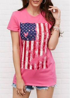 Shop Womens Fashion Tops, Blouses, T Shirts, Knitwear Online 4th Of July Dresses, 4th Of July Outfits, Outfits For Teens, Boho Outfits, Cute Outfits, 4th Of July Swimsuits, Cute Sweaters, Blouses For Women, Knitwear