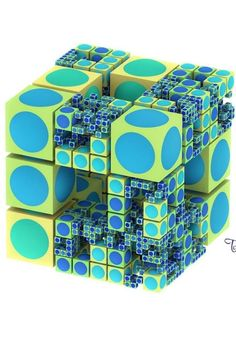cool 'Rubik cube.'