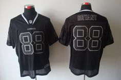 NFL Nike Elite Dallas Cowboys #88 Dez Bryant Lights Out Jersey