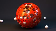 Cinema 4D – Creating an Abstract Sphere Design Tutorial