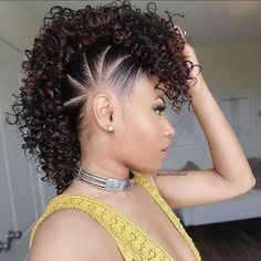 50 Mohawk Hairstyles For Black Women Hair Guru Ideas Tips Diy
