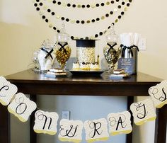 DIY Graduation Party Ideas And Inspiration- B. Lovely Events