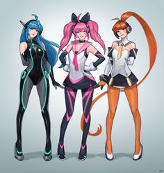 Lide and Fokus and Reymi Fantasy Character Design, Character Creation, Character Design Inspiration, Game Character, Character Concept, Concept Art, Animation Character, Fantasy Characters, Female Characters