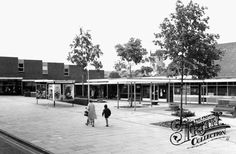 The New Shopping Centre c1965, Rothwell