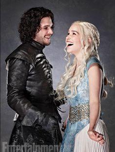 Daenerys e Lord Snow
