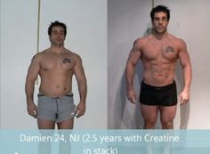 2.5 years transformation with Creatine in stack