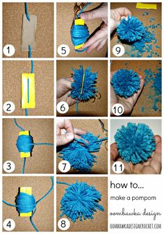 How to Make a Simple Pompom