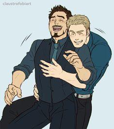 stony fanfic   tony stark Captain America Steve Rogers avengers superhusbands Stony ...