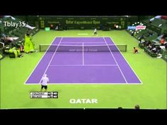Tennis Best Of 2013 (#2) / Qatar 2013= Mikhail Youzhny and Benjamin Becker Incredible Point (HD)