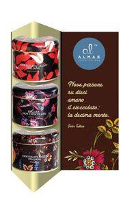 Espositore per confezioni cioccolata Delux