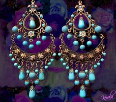 Boho Chandelier Earrings <span class=\