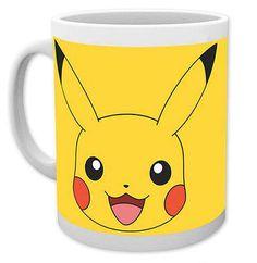 Taza Pikachu. Pokemon Taza perteneciente a la serie de Tv los Pokemon con la imagen de Pikachu.