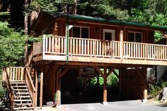 Check out this awesome listing on Airbnb: Beautiful New Redwood Tree House in Santa Cruz