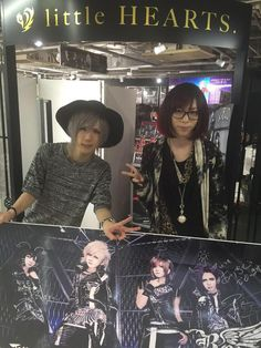 Kuina and Koudai of Royz's promotional visits to Brand X Ikebukuro store, Takadanobaba ZEAL LINK store and little HEARTS. Shinjuku store on May 06th, 2015.