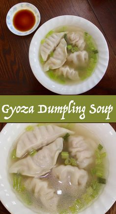 This is a Gyoza Dumpling Soup recipe, a very common dish in Japan. It is made comprised of a steaming hot bowl of soup and tasty gyoza dumplings! A dumpling soup is a healthier way of preparing dumpling as opposed to frying it.