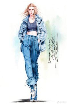 Fashion Sketches 721983384001122214 - 64 Women Fashion Design Ideas Source by artgidav Fashion Design Sketchbook, Fashion Design Drawings, Fashion Sketches, Fashion Design Illustrations, Watercolor Fashion, Fashion Painting, Silhouette Mode, Arte Fashion, Fashion Illustration Dresses
