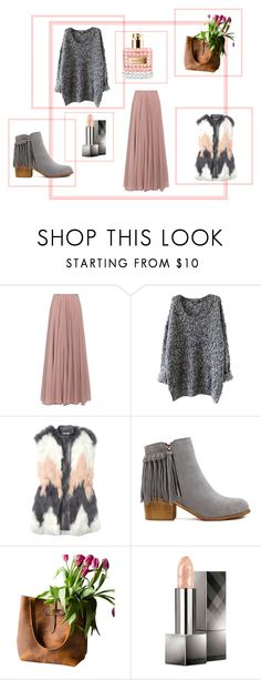 """""""#flowers#"""" by slounis on Polyvore featuring moda, Lara Khoury, Rebecca Taylor i Burberry"""