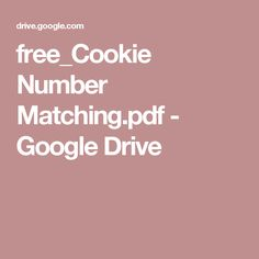 free_Cookie Number Matching.pdf - Google Drive
