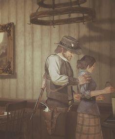 """Ain't no trouble Abigail. Ain't no trouble. I love you."""