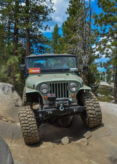 This 1967 Jeep Is Well Built, Not Overbuilt Cj Jeep, Jeep Cj7, Jeep Truck, Scout Rifle, Overland Gear, Green Jeep, Badass Jeep, Cool Jeeps, Lifted Ford Trucks
