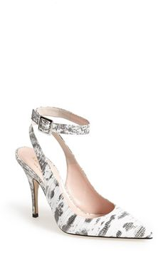 kate spade new york 'luminous' ankle strap pump (Women) available at #Nordstrom