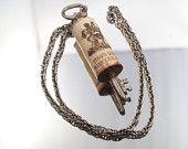 Cork & Key Wine Necklace