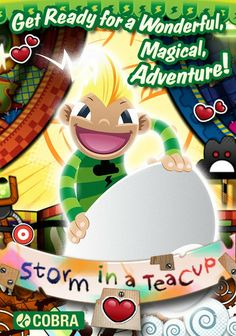 Storm in a Teacup PC - A magical adventure is also available to download and play now from www.loungetime.co.uk - only £3.99 Storm In A Teacup, Mobile Game, Linux, Tea Cups, Ipad, Entertaining, Adventure, Iphone, Digital