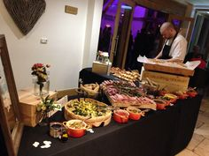We love presenting our evening food options too! #gallopinggourmet