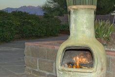 1000 Images About Modern Chiminea For Outdoor On