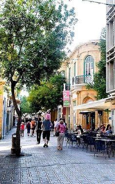 Ledra Street, Old Nicosia, Cyprus South Cyprus, Places Around The World, Around The Worlds, Cyprus Island, Visit Cyprus, Nicosia Cyprus, Paphos, Limassol, Countries To Visit