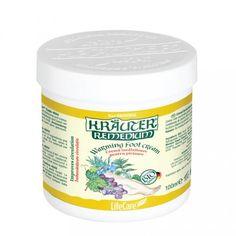 Kräuter® lábmelegítő krém, BIO gyógynövényekkel Life Care, Coconut Oil, Salt, Food, Essen, Salts, Meals, Yemek, Eten
