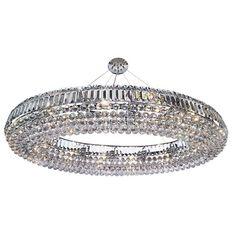 Modern Chrome Oval 24 Light Crystal Pendant Fitting by Washington Lighting Crystal Ceiling Light, Ceiling Chandelier, Black Chandelier, Chandelier Shades, Ceiling Pendant, Pendant Lighting, Ceiling Lights, Dar Lighting, Chandeliers