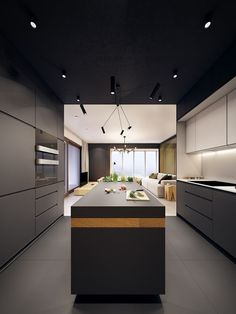 This fresh modern #home is the work of the interior design superstars at Polish creative agency PLASTERLINA. The project, titled U.S.S. #Home, is an exciting conc