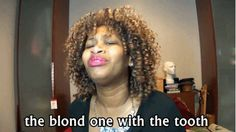 Oh Glozell. Seriously laughed at this for like 10 minutes straight. 'the tooth'