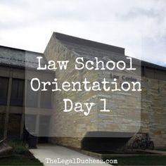 Law School Orientation day 1 is a wrap!
