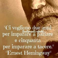 Pensieri e Frasi | Semplicemente Donna by Ritina80 Quotes Thoughts, Life Quotes, Italian Quotes, Feelings Words, For You Song, Quote Citation, Ernest Hemingway, Funny Images, Sentences