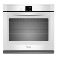 Whirlpool 30-in Single Electric Wall Oven (White)