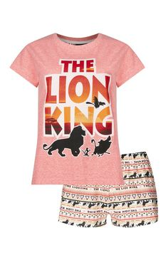 Primark - Pyjama orange Lion King