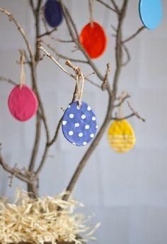 Поделки на Пасху для детского сада своими руками: яйца и пасхальное деревце
