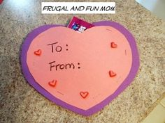 On Monday, I had all my kids at home, plus my nephew since school was out, and I wanted to put together a seasonal activity to keep them occupied. Since Valentine's is just around the corner, I thought it we be fun to make aNo Glue Valentine's Day Candy Card. It also gave me an [... Read More with Links ...]